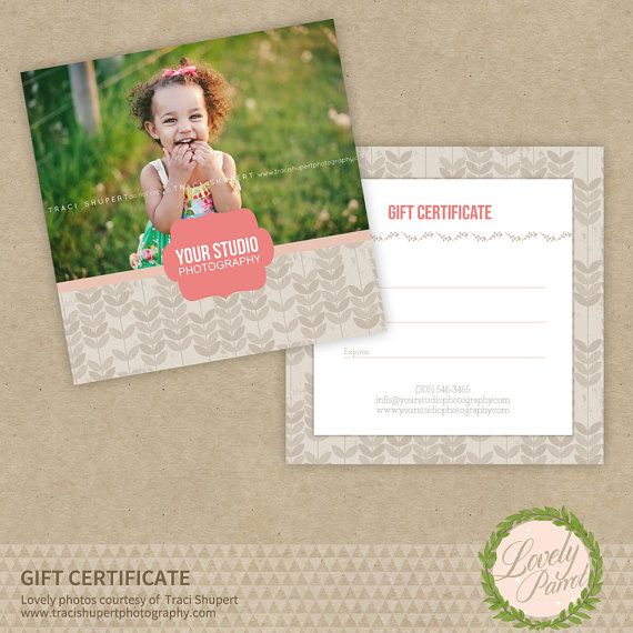 10 best Gift Certificate Ideas images on Pinterest Business - photography gift certificate template