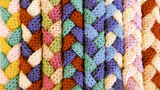 French knitted bracelets diy | wollgold