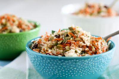Vegetariancook: Сыроедческий салат из цветной капусты с орехами