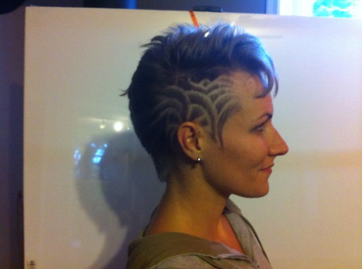 Undercurrents (lavender) - Hair tattoos by Gord.