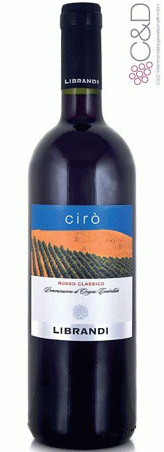 Folgen Sie diesem Link für mehr Details über den Wein: http://www.c-und-d.de/Kalabrien/Ciro-Rosso-2013-Librandi_50400.html?utm_source=50400&utm_medium=Link&utm_campaign=Pinterest&actid=453&refid=43   #wine #redwine #wein #rotwein #kalabrien #italien #50400