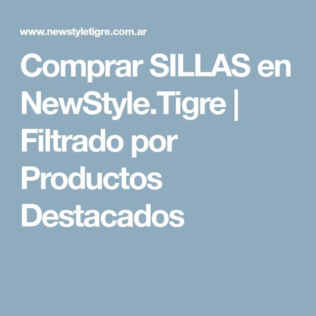 Comprar SILLAS en NewStyle.Tigre | Filtrado por Productos Destacados