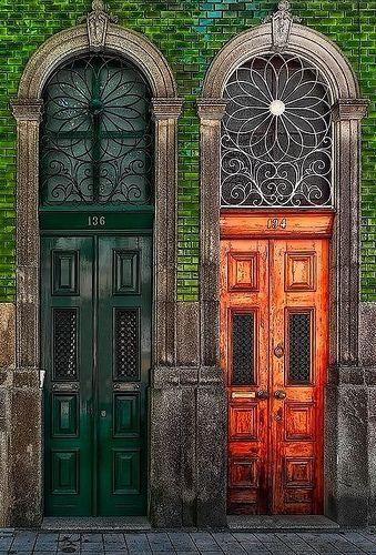 Porto - portas rua da 3º porto