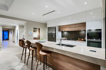 Home Design - The Bayfield - contemporary - Kitchen - Perth - Webb &…