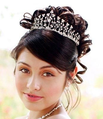 Hairstyles For A Quinceanera Hairstyles Pinterest