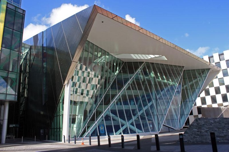 The Grand Canal Square - Grand Canal Theatre. Amazing Contemporary Architecture... Dublin
