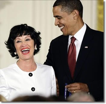 The United States honored Chita Rivera as one of America's great artists with the Metal of Freedom Award. President Obama made remarks at the ceremony.