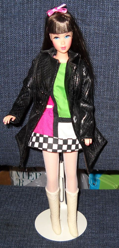 2002 Brunette Mod Repro TNT Barbie with Rocky Mountain Convention Outfit #Mattel