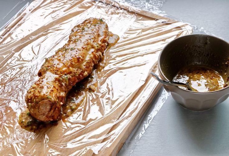 Recette de filet mignon de porc au miel et à la moutarde au four vapeur