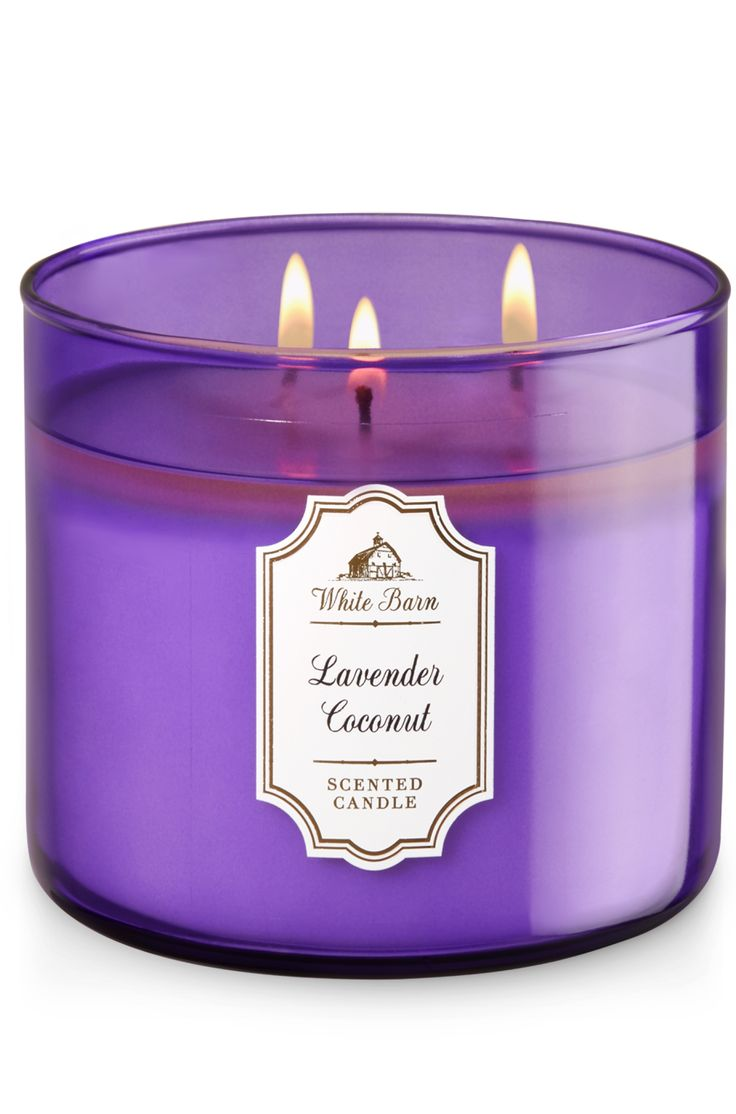 Lavender Coconut 3-Wick Candle - Home Fragrance 1037181 - Bath & Body Works