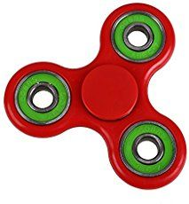 Anself Tri Fidget Hand Finger Spinner Spin Widget Focus Toy EDC Pocket Desktoy Triangle Plastic Gift for ADHD Children Adults