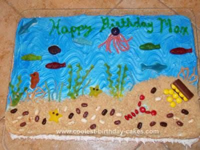 Water themed cakes-Mia