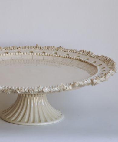 Frances Palmer Large Ruffle cake stand (handmade)