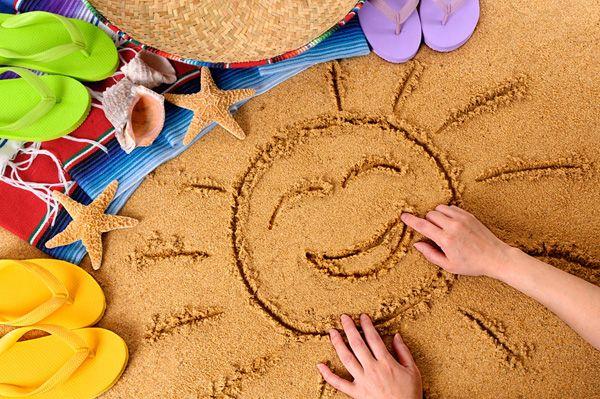 Пляжные игры для детей - Погремушки