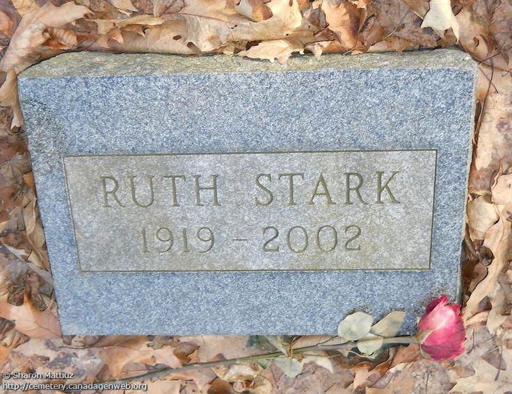 ON: Gore / Clanbrassil / Dufferin Cemetery (Ruth STARK), CanadaGenWeb's Cemetery…
