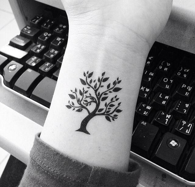 Tree of Life on Wrist