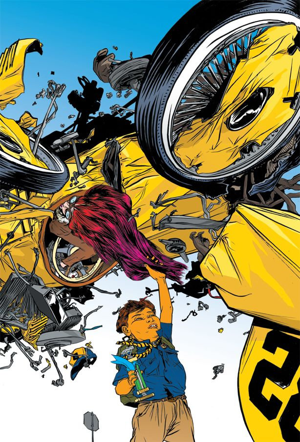 Nathan Fox's Stay Tuned – Meathaus Enterprises: Comics + Cartooning + Animation + Inspiration