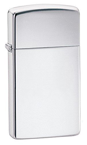 (Zippo Slim High Polish Chrome Pocket Lighter) Buy-Accessories.net