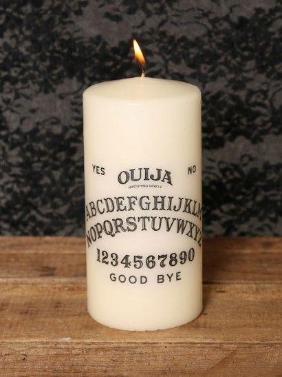 Ouija Candle - Gypsy Warrior #GypsyWarrior (if I win the day you announce is my birthday Nov.9)