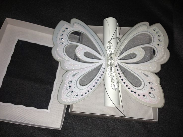 Diy Scroll Wedding Invitations: 100 Butterfly Scroll Invitations Wedding, Bridal Shower