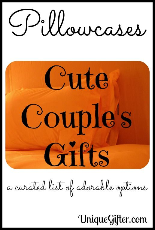 Pillowcases for Cute Couples Gifts - Unique Gifter