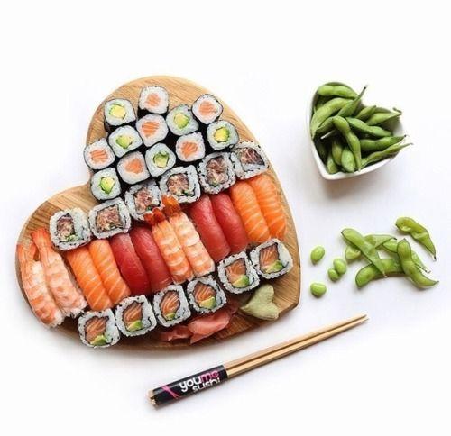 Lovely sushi. Photo by @youmesushi.