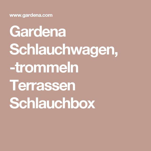 Gardena Schlauchwagen, -trommeln Terrassen Schlauchbox