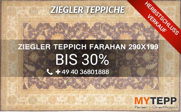 online kaufen ziegler klassische teppiche farahan 290x199 wir f hren eine gro e auswahl an. Black Bedroom Furniture Sets. Home Design Ideas