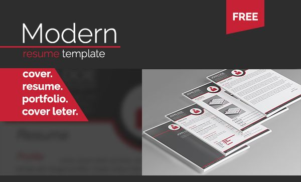 Free Modern Resume Template by TypeBoy AndreiGrigoriu, via Behance https://www.facebook.com/typeboycom?fref=ts