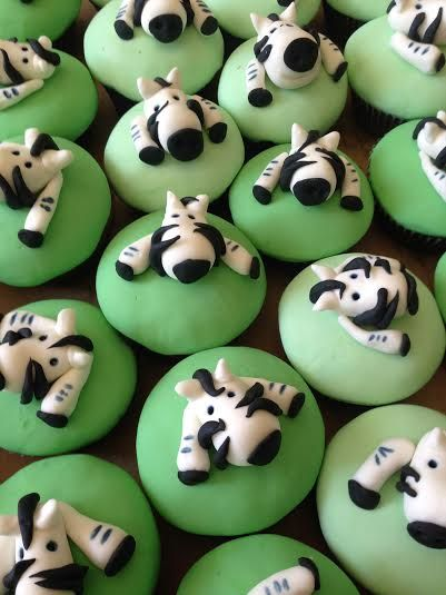 Little Zebra Cupcakes