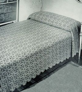 17 Best Images About Crocheted Bedspreads On Pinterest
