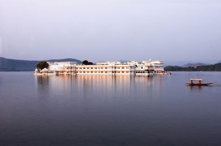 The Taj Lake Palace, Udaipur.