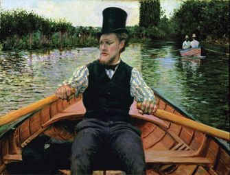 My favorite Impressionist: Caillebotte.     Brooklyn Museum: Gustave Caillebotte: Impressionist Paintings from Paris to the Sea
