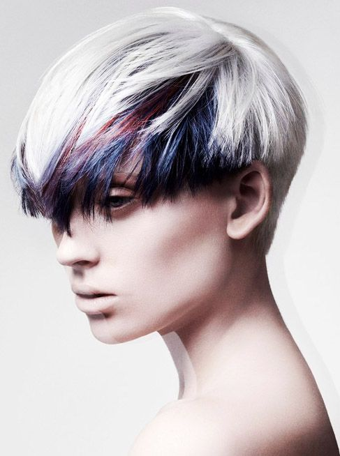 Short Punk Hairstyles 29 Best Short Punk Hairstyles For Women Images On Pinterest  Angel