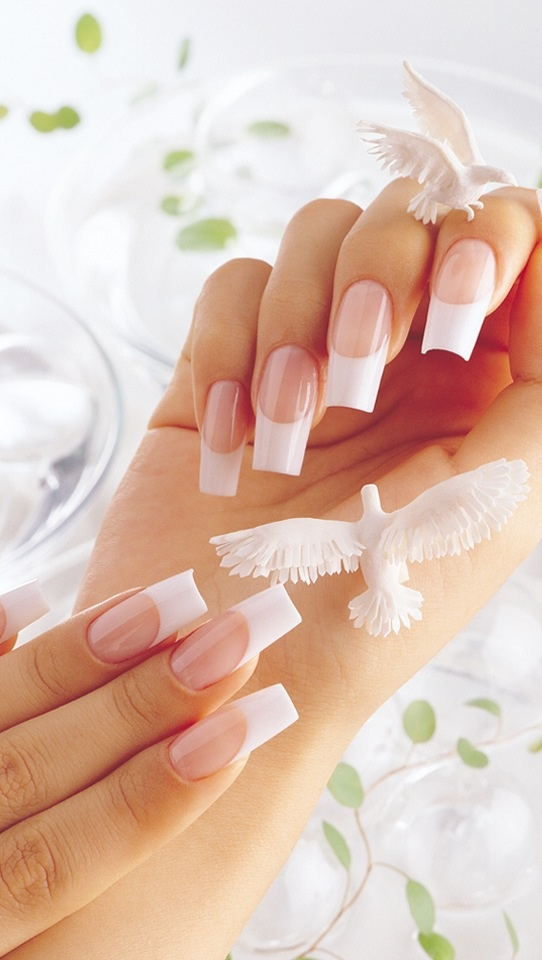 7 best Acrylic inspirations images on Pinterest | White tip nails ...