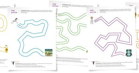 Teaching Blog Addict: Free Maze Worksheets (great fine motor practice!)