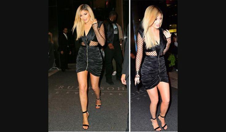 Microtul, escotazo y al cuerpo: el vestido híper sexy de Kylie Jenner | Fashion TV
