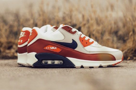 new arrival d76a0 e3704 This Nike Air Max 90 Brings The Fall Vibes The Nike Air Max 90 is bringing  the Fall vibes to the Spring as the popular silhouette has just released in  a new ...