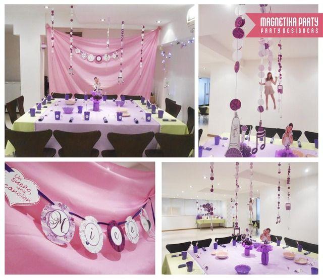 Violetta para Mica y sus amigas | CatchMyParty.com