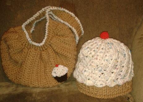 #cupcake #beaniehat #crochet #fatbag