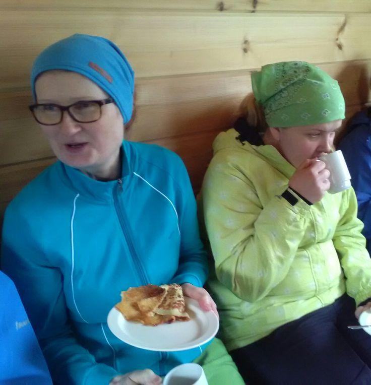 Kyllä on maukkaita lettuja😊 Juvakodin keittiöllä 1.6.2017