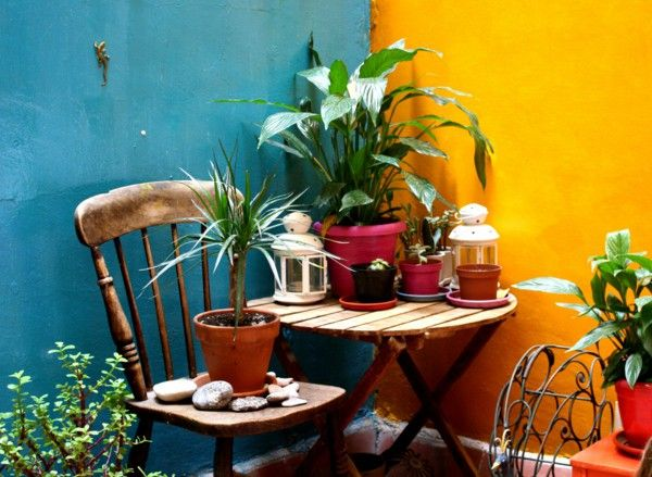 wall-color-turquoise-yellow-mexico-style.jpg (600×439)