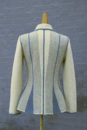 Mermaid jacket by Hanne Falkenberg maybe I can sew a knit because I love this shape.