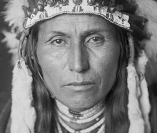 Nez Percé Chief Albert Waters, Successor To Chief Joseph, JAN 1906