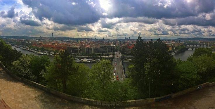 Praga desde el metrónomo http://365.petaqui.com/2015/05/04/praga-desde-el-metronomo/ - Proyecto 365