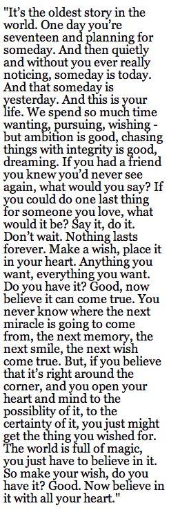 (what do you desire?)