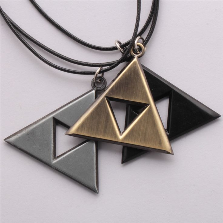The Legend of Zelda Triforce of Courage, Wisdom, Power Only $11.99 FREE Shipping Which color do you like?