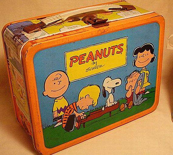Peanuts lunch box! I love it!