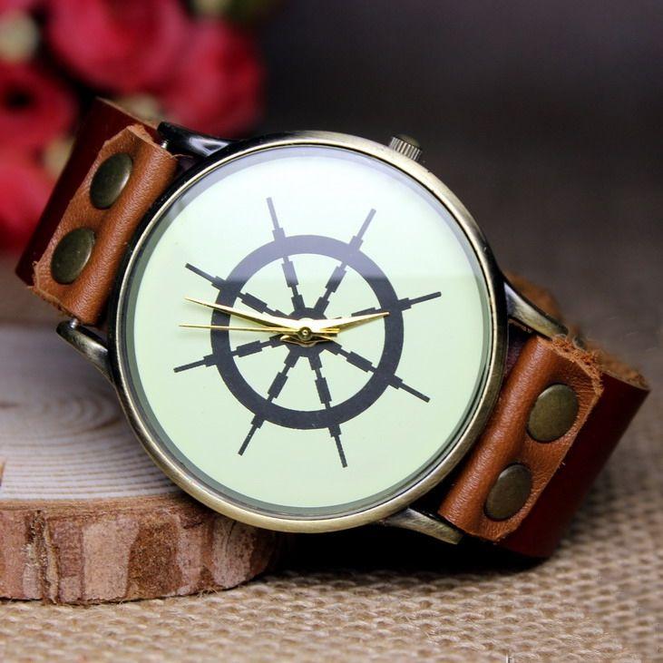 Handmade watch / vintage watch / wrist watch / leather watch / mens retro watch / quartz watches (wat0241)