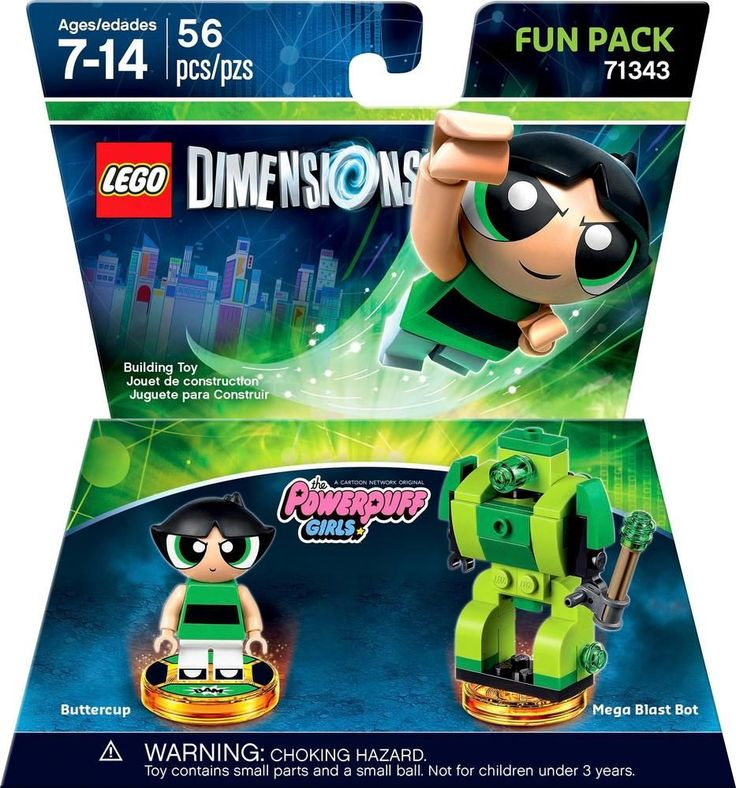 Lego Dimensions - The Powerpuff Girls Fun Pack (Buttercup)